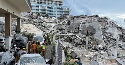 La Nación / Tragedia en Miami: siguen buscando sobrevivientes entre los escombros a casi 72 horas del colpaso