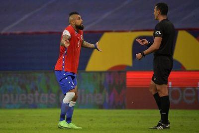 Chile solicita la suspensión de Wilmar Roldán y su equipo