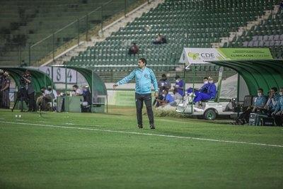 El Coritiba FC de Gustavo Morínigo, en un gran momento en la Serie B