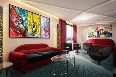 ¡Genial! Disneyland París abrió el primer hotel del mundo dedicado al universo Marvel