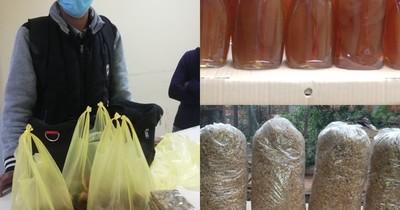 La Nación / Ejemplo de superación: joven aregüeño vende frescos productos para cuidar la salud de su padre