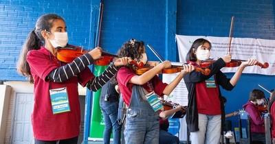 La Nación / Sonidos de la Tierra invita a un concierto virtual de orquestas juveniles