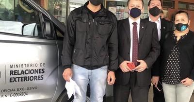 La Nación / Llegó hermano de Leidy y le hicieron prueba de ADN