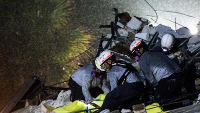 Encuentran el cuerpo de otra víctima y ya suman cinco los fallecidos por derrumbe en Miami