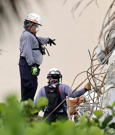 Siguen sin encontrar sobrevivientes tras derrumbe en Miami •