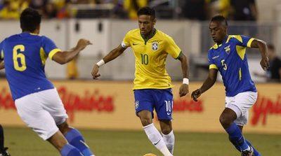 La imparable Brasil ante una Ecuador que se aferra a seguir en la Copa