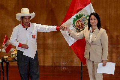 Fujimori instó a Castillo a unirse a su petición de una auditoría sobre las elecciones de Perú