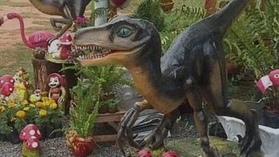 Figuras de dinosaurios son furor en redes sociales