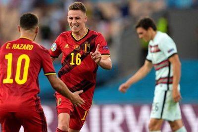 Bélgica elimina al campeón Portugal y va decido al título