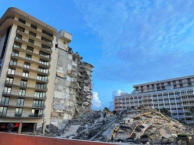 Aumentó a nueve el número de muertos por desplome parcial del edificio en Surfside
