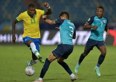 Ecuador consigue un empate ante Brasil y está en cuartos