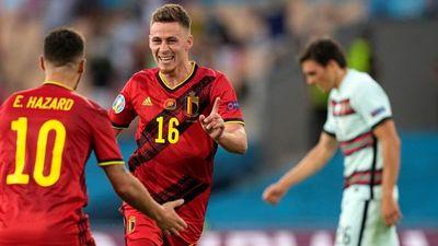 Bélgica elimina al campeón Portugal y va decidido al título