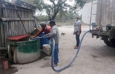 Los efectos de la sequía ya impactan las comunidades del Alto Paraguay