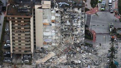 Un ingeniero experto en desastres investigará el derrumbe del edificio en Miami