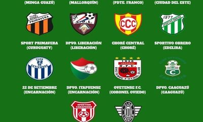 Cuatro equipos del Alto Paraná formarán parte del Nacional B