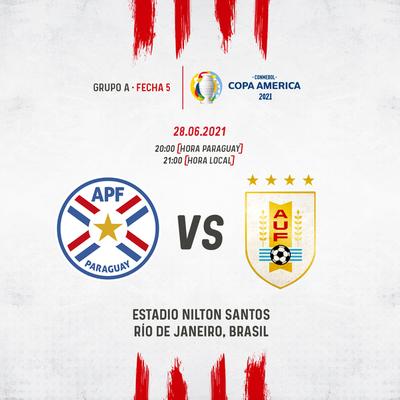 La Selección Paraguaya mide hoy a Uruguay buscando instalarse en la cima del Grupo A