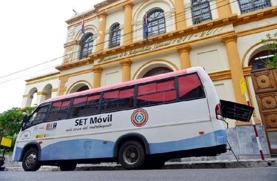 PAC Móvil de Tributación ofrece desde hoy servicios gratuitos en Alto Paraná