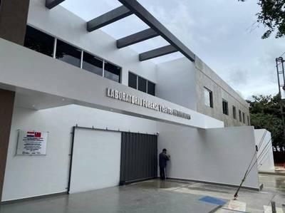 Secretaría Nacional Antidrogas inaugura moderno laboratorio forense y centro de evidencias
