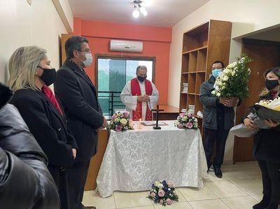 Ofician misa por primer aniversario de fallecimiento de jueza