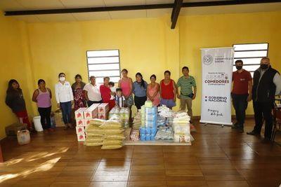 Con entrega de alimentos, gobierno garantiza seguridad nutricional de comunidad indígena