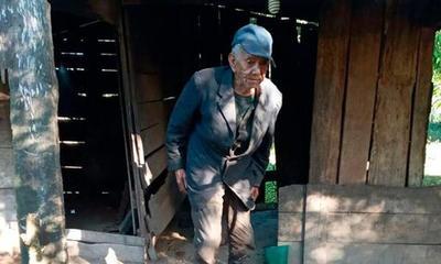 Piden ayuda para abuelito que vive en precarias condiciones – Prensa 5