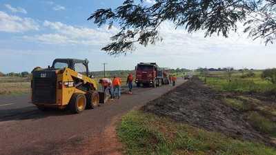 Ruta PY05: inician trabajos de rehabilitación del tramo Yby Yaú