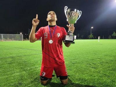 Matias Ortigoza, el paraguayo que coronó campeón al Moros FC en la División Atlántico