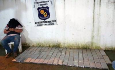 Requieren prisión de camionero detenido con 95 kilos de cocaína