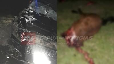 ACCIDENTE DE TRÁNSITO EN ZONA DE SAN ISIDRO – GRAL. DELGADO