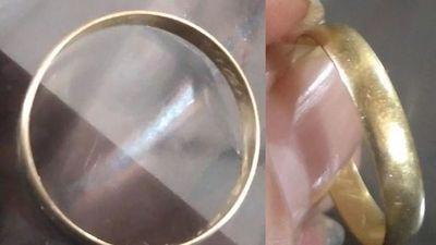 Rara epidemia de personas que pierden sus anillos de casados