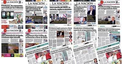 La Nación / Luego de dos años del destape de La Nación, Fiscalía acusa a Friedmann