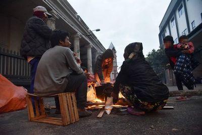 Frío polar: Algunos grupos en situación de calle no quieren ir a albergues habilitados