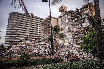 Aumentan a 11 los muertos por el derrumbe en Miami