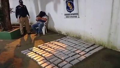 Ciudad del Este: Abren proceso contra hombre detenido con 95 kilos de cocaína