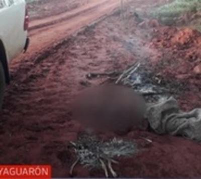 Bajas temperaturas se cobran la primera vida en Yaguarón