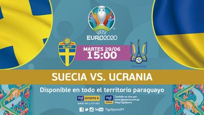Suecia y Ucrania se enfrentan por el último boleto a cuartos