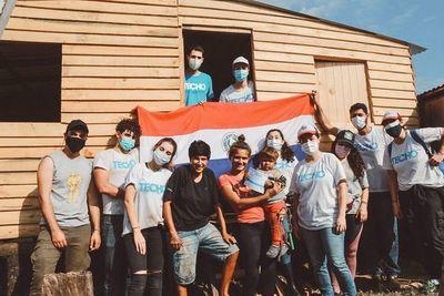 TECHO Paraguay: construirán 53 viviendas de emergencia, el 3 y 4 de julio