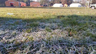Jornada de mucho frío en gran parte del país