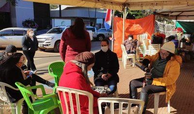 Solución en Tesãi es destitución de Bittinger, advierte personal de blanco en huelga
