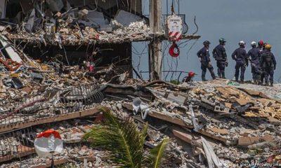 Ya son 11 las víctimas identificadas en el derrumbe de Miami