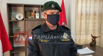 NUEVO DIRECTOR POLICIAL COMPROMETIDO EN DEVOLVER LA PAZ A ITAPÚA.