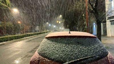 Caída de nieve en Encarnación