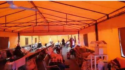 Piden mejoras para las instalaciones provisorias de los familiares de pacientes internados en IPS