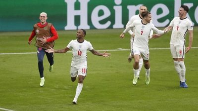 Inglaterra liquida a Alemania 2-0 al final del partido y entra a los cuartos de la Eurocopa