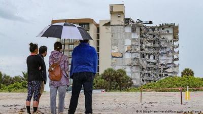 Biden visitará el jueves edificio que se derrumbó en Miami
