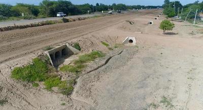 Transchaco: infraestructura de drenaje permitirá prolongar la vida útil de la ruta