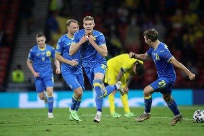 Con un gol en tiempo de adición del alargue, Ucrania se mete a cuartos