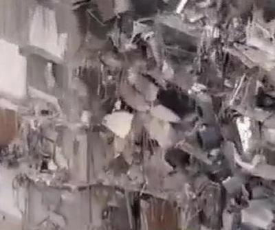 Derrumbe en Miami Beach: Lluvia complica las tareas de búsqueda