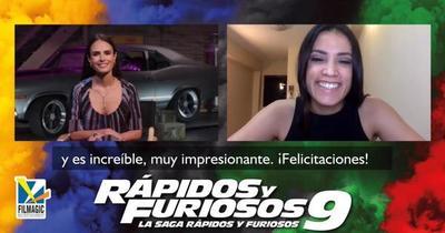 """Jordana resalta el empoderamiento de la mujer en """"Rápidos y Furiosos 9"""""""