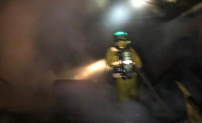 Incendio en una vivienda de Minga Guazú